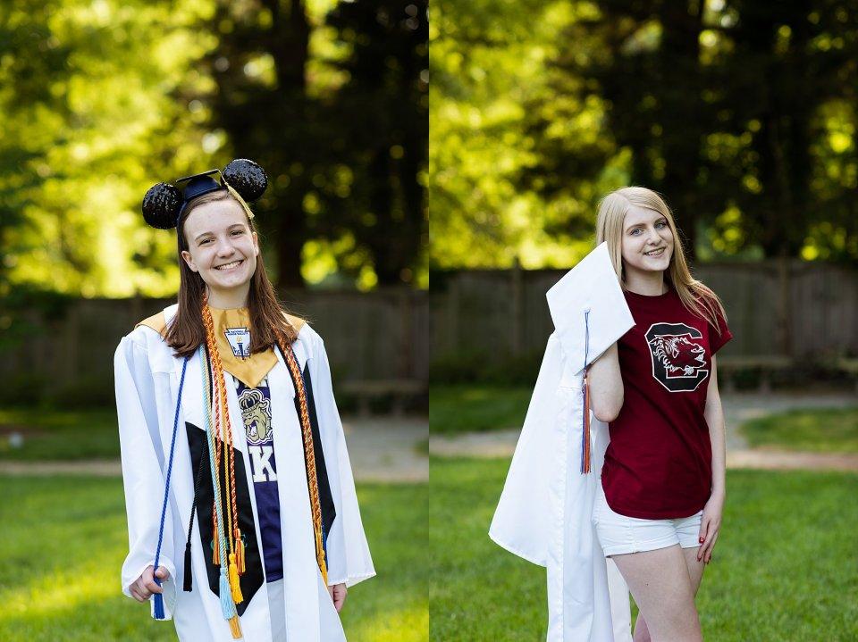 senior, graduation, laura matthews, glen allen, richmond, virginia, college