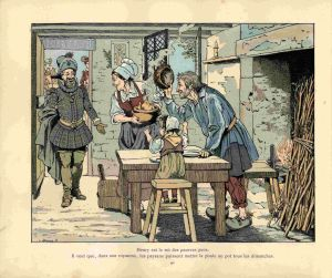 print peasants in provence