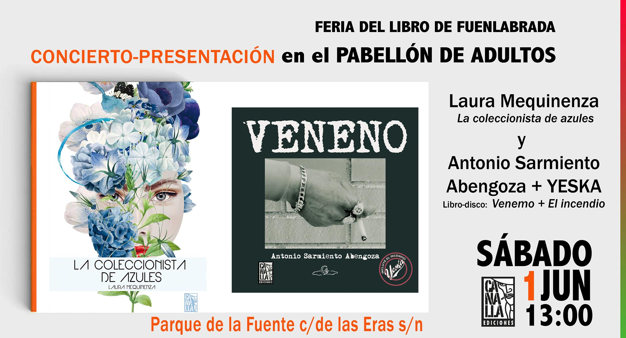 Feria del libro en Fuenlabrada 2019