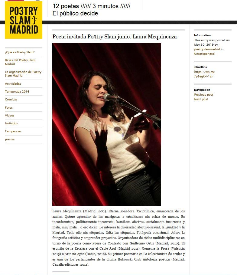 poetry slam madrid