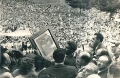 Diez años más tarde, en 1959, Toledo le recibe como ganador del Tour de Francia. (Archivo Club Deportivo de Bilbao)