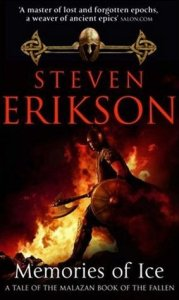 Memories of Ice by Steven Erikson (cover image)