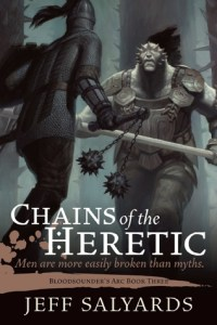 Cover Image: Jeff Salyards, 'Chains of the Heretic'