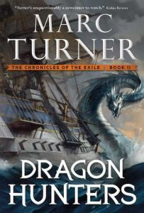 Dragon Hunters by Marc Turner (US cover)