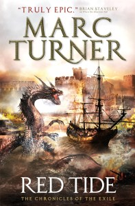 Red Tide (UK cover) by Marc Turner