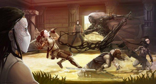 'Blacksword Visits' - Malazan Art by Shadaan