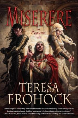 Miserere by Teresa Frohock (cover image)