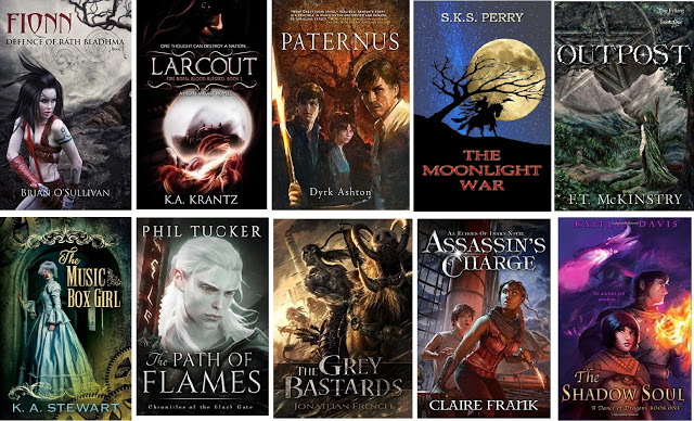 SPFBO 2016: the Final Ten!