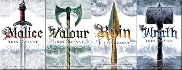The Faithful and the Fallen quartet by John Gwynne