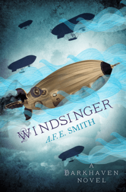 Windsinger (Darkhaven #3) by A.F.E. Smith