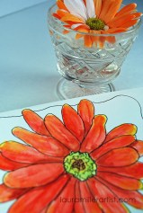 2orange flowers