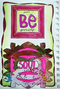 6wycinanki art journal words