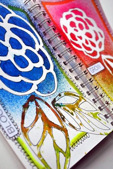 25silicone stencils laura miller artist