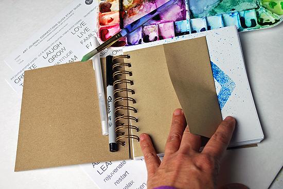 19art journal multi color