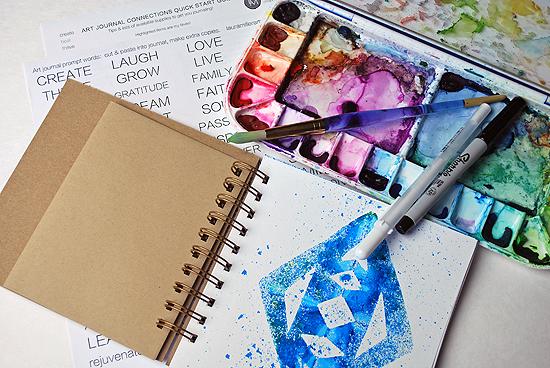 21art journal multi color