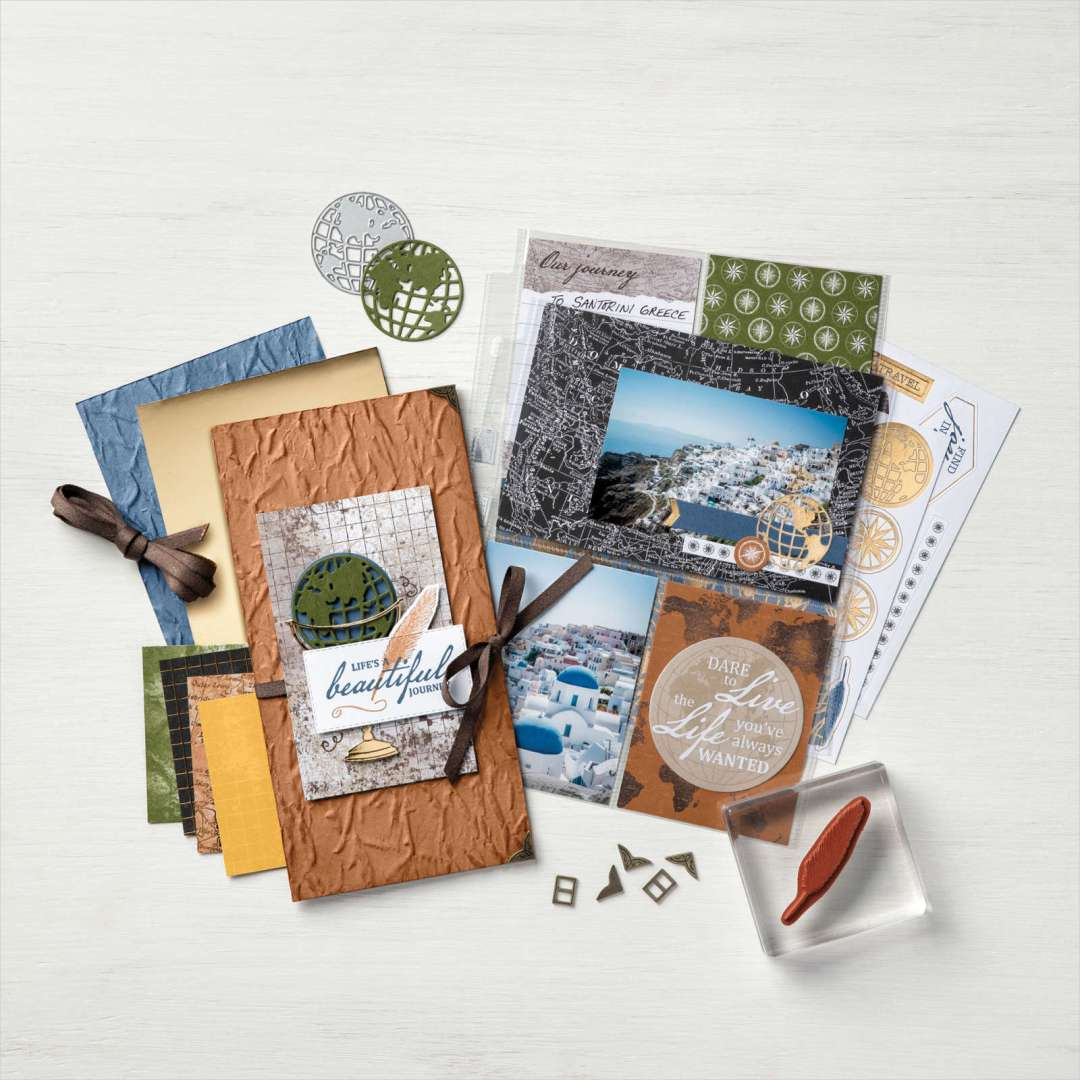 World of Good Suite Samples from Stampin' UP!
