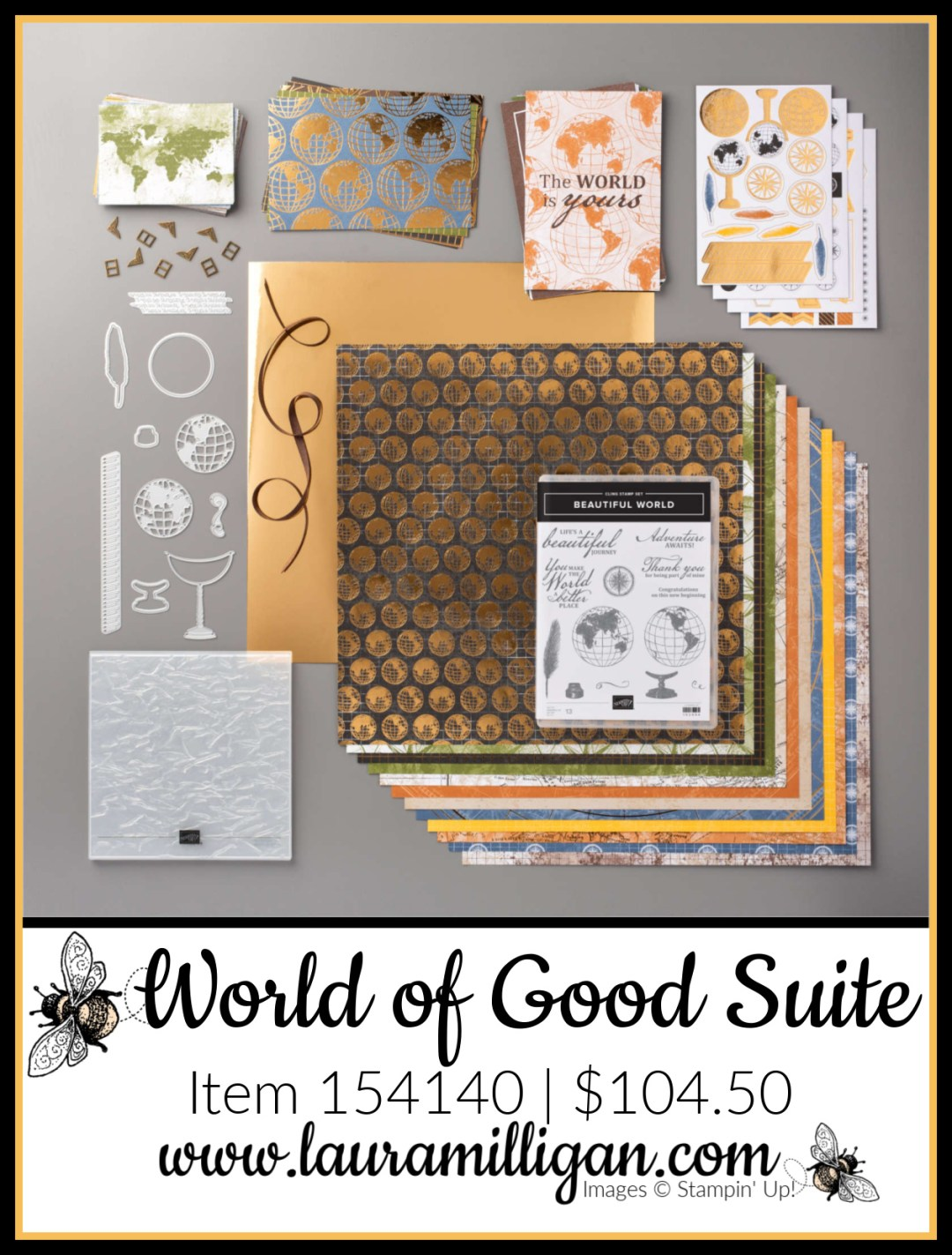 World of Good Suite from Stampin' Up! Item 154140