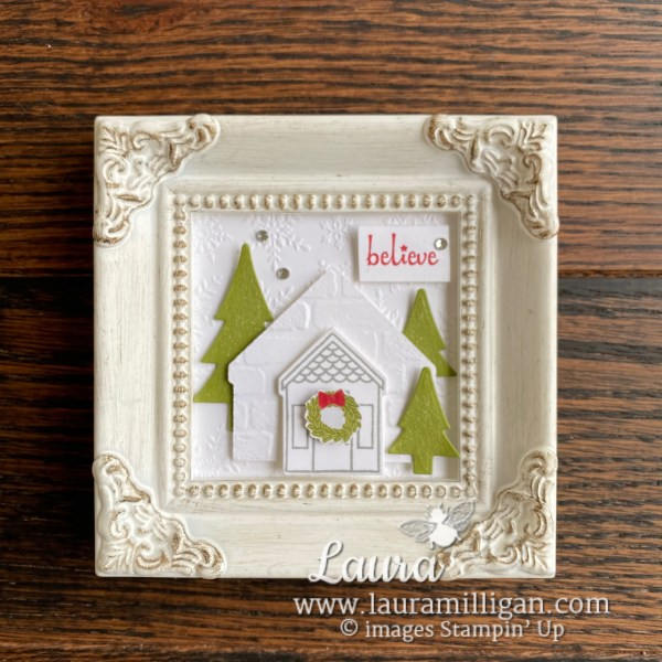 Coming Home Bundle Little Scene in a Frame by Laura Milligan, Independent Stampin' Up! Demonstrator