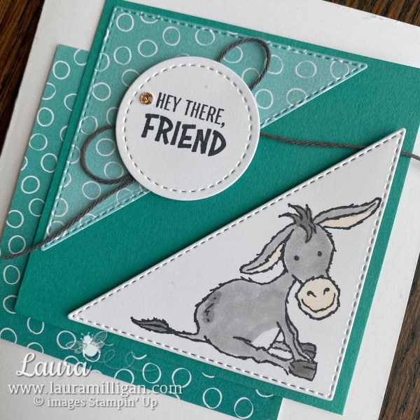 Darling Donkeys Stamp Set Free with $50 Order during Stampin' Up! Sale-a-Bration
