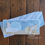 Friends are Like Seashells Slimline Card by Laura Milligan Id Rather Bee Stampin