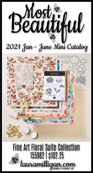 Fine Art Floral Suite Collection from Stampin' Up!