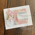 You Are Unique and Amazing Sand & Sea by Stampin