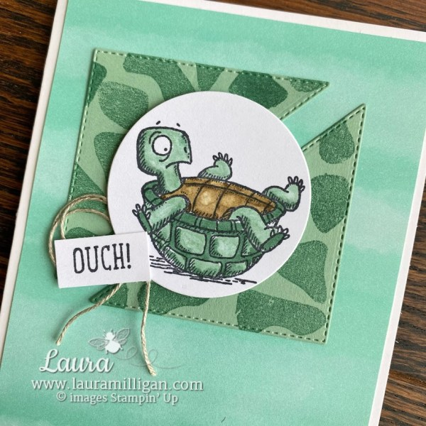 Back On Your Feet Stamp Set Laura Milligan Stampin' Up! Earn Free Product