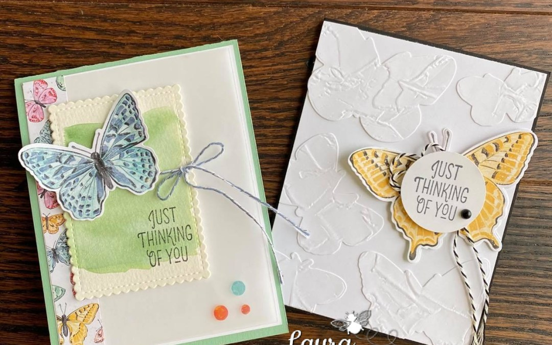 Butterfly Brilliance Collection by Stampin' Up – Facebook Live Take Two!