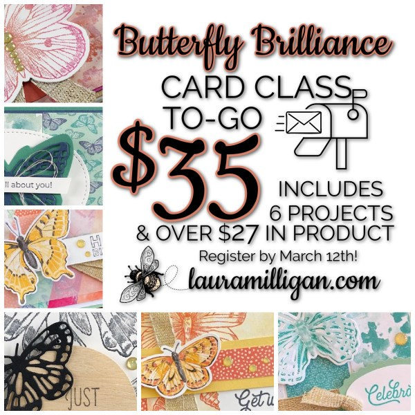 Card Class to Go Butterfly Brilliance