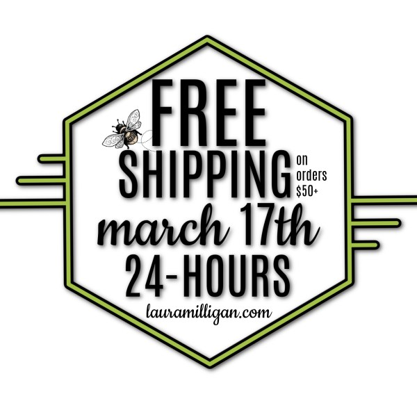 Laura Milligan Free Shipping March 17