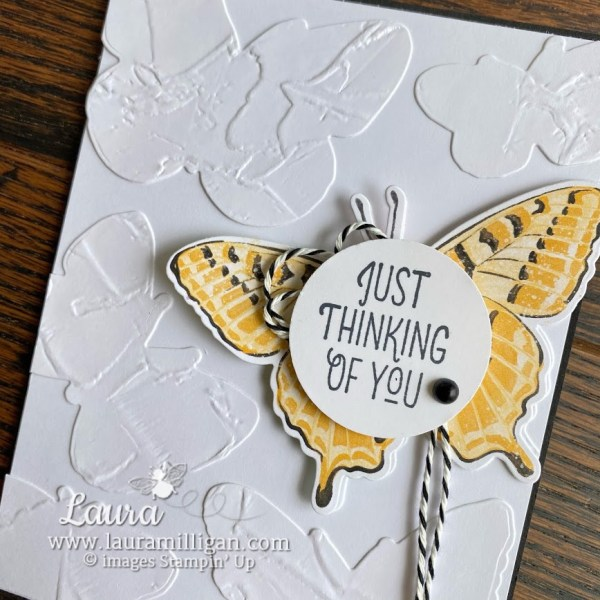 butterfly brilliance bundle by Stampin' Up! Laura Milligan demonstrator earn free product