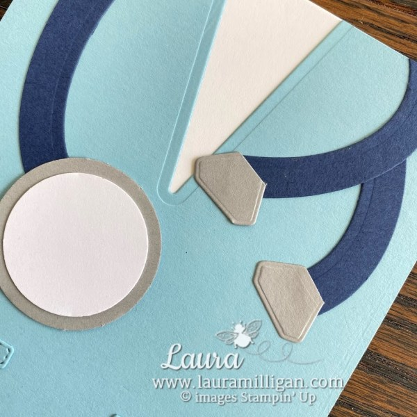 create a nurse scrubs card with Well Suited by Stampin' Up! Laura Milligan demonstrator