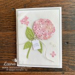 hydrangea haven card by laura milligan stampin up demonstrator