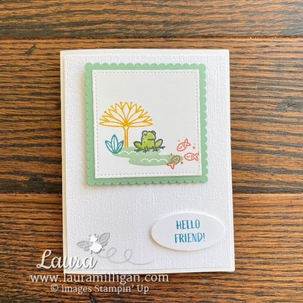 oh snap handstamped card by Laura Milligan demonstrator