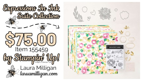 Expressions in Ink Suite Collection From Stampin' Up! 155459 by Laura Milligan Id Rather Bee Stampin