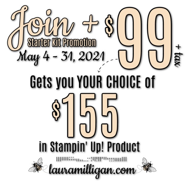 Join + Promo Graphic Laura Milligan Id Rather Bee Stampin'
