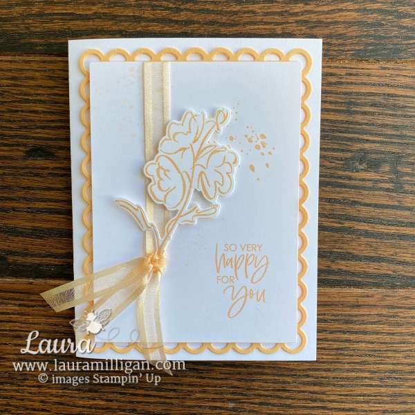 Create this card using the New 2021-2023 In Colors and color and contour bundle stampin' up! Laura Milligan