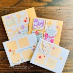 All Squared Away - Simple to Stepped Up by Laura Milligan Stampin
