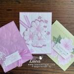 Laura Milligan Art In Bloom Card Trio - Facebook Live - Stampin