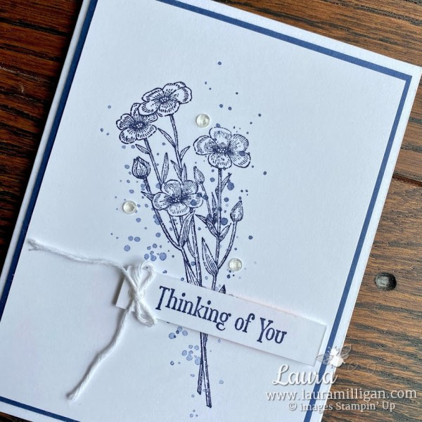 Quiet Meadow By Laura Milligan Card Making Earn Free Product Stampin' Up!
