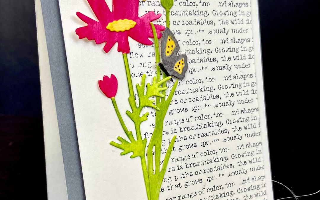 Bee Creative Tutorial – Quiet Meadow Card