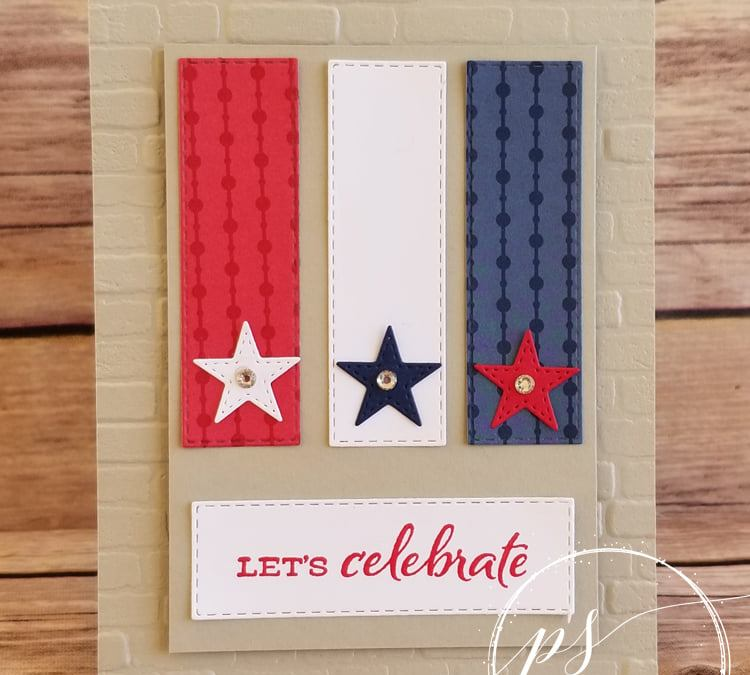 Bee Creative Tutorial – Let's Celebrate the 4th!