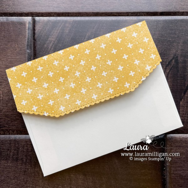 Decorated Medium Envelope Basic Border Dies by Laura Milligan. Shop Online 24-7 for Stampin' Up! Products Earn Free Bees