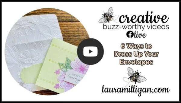 Laura Milligan YouTube Thumbnail Dress Up Your Envelopes