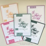 create these cards Stampin