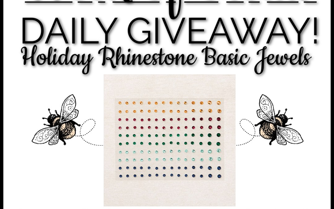 Day 3 Giveaway! Holiday Rhinestone Basic Jewels!