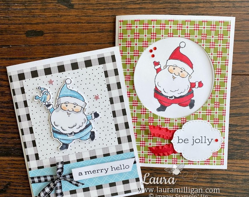 Be Jolly Card Duo + Day 2 Giveaway!