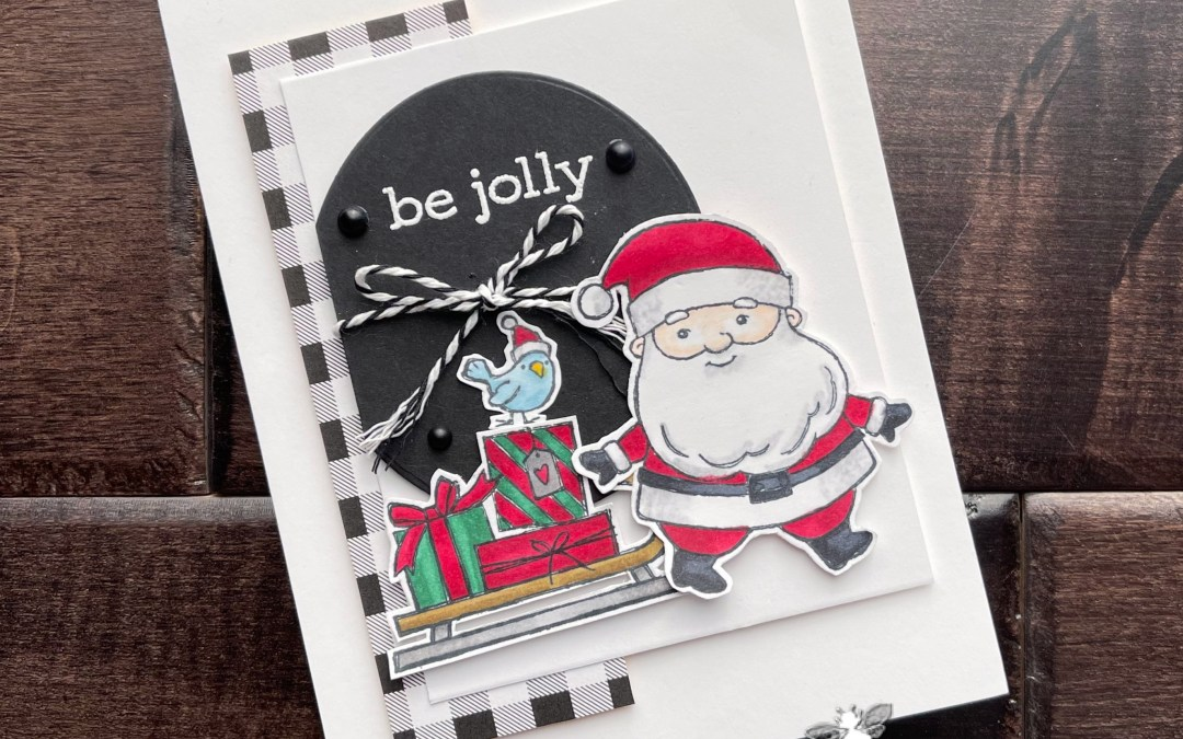 Be Jolly with Santa and Sleigh + A Giveaway!