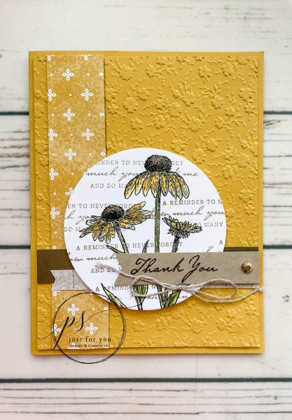 Nature's Harvest by Stampin' Up! Card by Laura Milligan Id Rather Bee Stampin