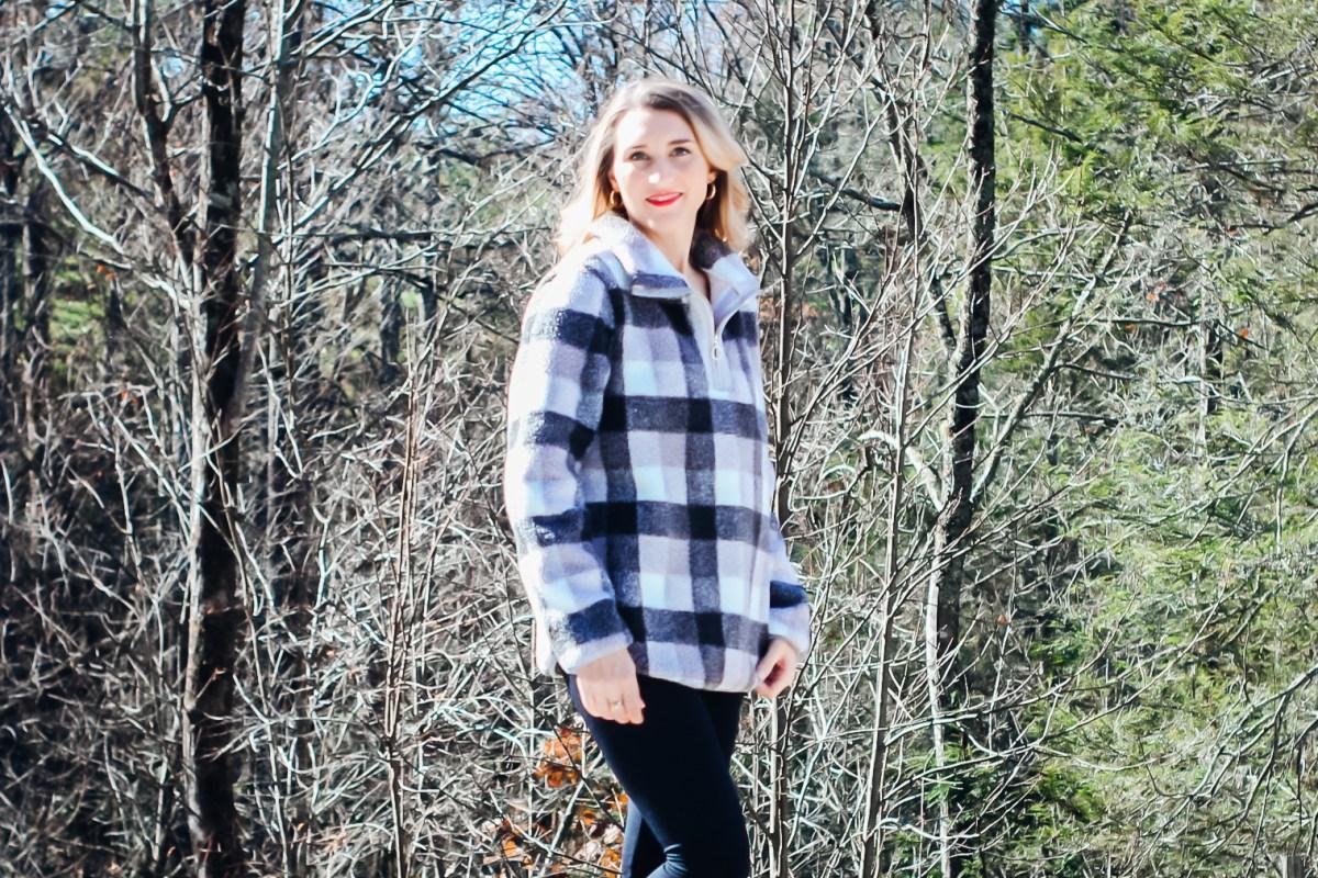 Buffalo Check Pullover Amazon Fashion